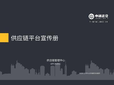 战略供应链平台宣传资料201801 幻灯片制作软件