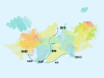 青藏主要景區 幻燈片制作軟件