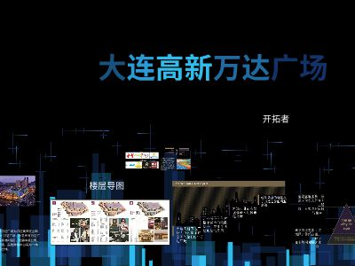 万达广场 幻灯片制作软件
