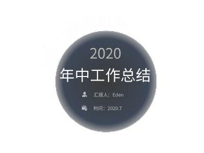 年中汇报-1 幻灯片制作软件