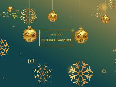 家族圣诞活动 幻灯片制作软件