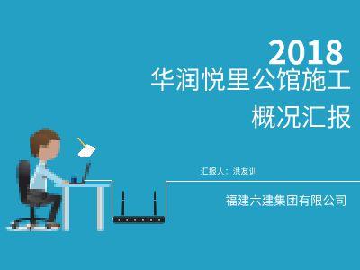 华润悦里公馆工作汇报 幻灯片制作软件