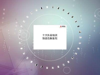 13铁皮石斛-课件(PPT演示) PPT制作软件