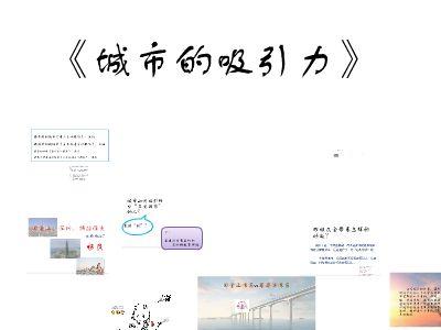 《城市的吸引力2 》 幻灯片制作软件