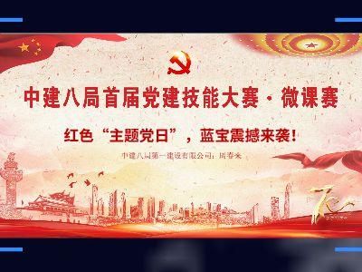 """局党建微课大赛——青岛公司(红色""""主题党日"""",蓝宝震"""