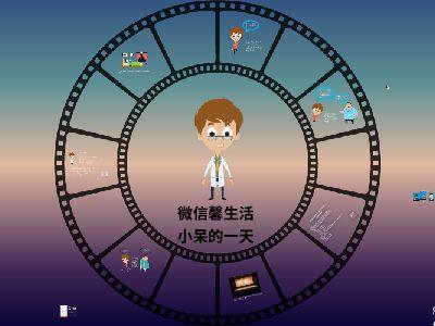 小呆与小瓜的微信生活 幻灯片制作软件