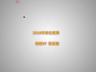 2018年竞聘 幻灯片制作软件