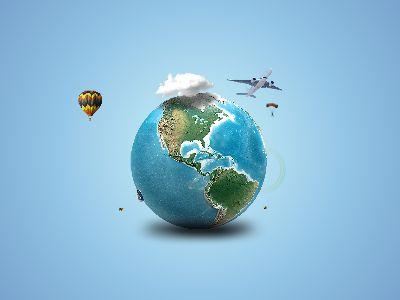 環球旅行-寫實
