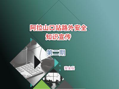 阿拉山口站路外安全宣传(二) 幻灯片制作软件