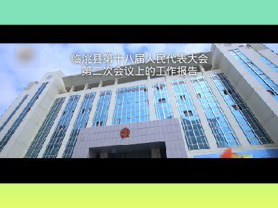 临洮法院人大报告