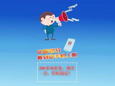中国银行搬到您的手机上啦! 幻灯片制作软件