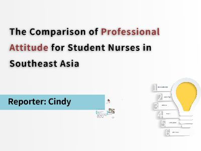 1The comprison of professional attitude for student nurse in southeast asia 幻灯片制作软件