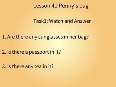 Lesson 42 课文录课视频 幻灯片制作软件