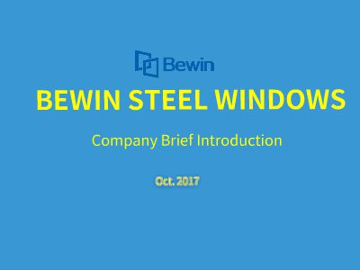 BEWIN STEEL