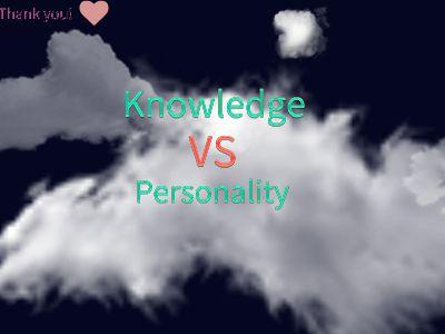 Knowledge VS Personality 幻灯片制作软件