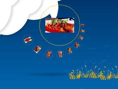 明珠美食 幻灯片制作软件