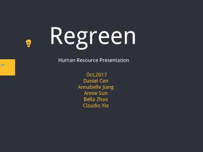 Human Resource on Regreen Company