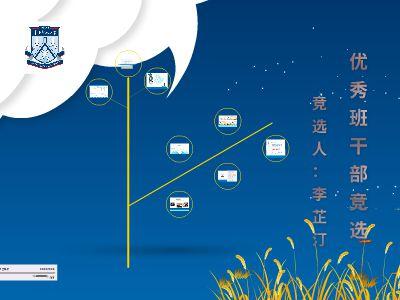竞选优秀学生干部事迹材料(113李芷汀)7-2修改版 幻灯片制作软件