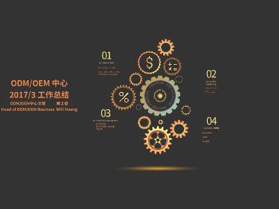 ODMOEM中心3月份工作总结 幻灯片制作软件