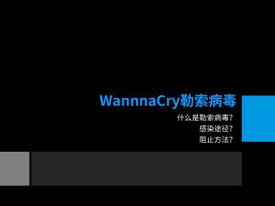 wannacry 幻灯片制作软件