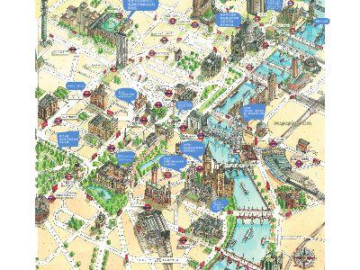 伦敦景点 幻灯片制作软件