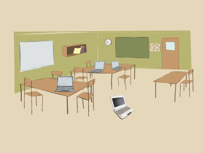 教室-教育 幻灯片制作软件