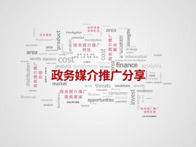 政务媒介推广分享 幻灯片制作软件