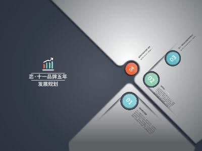 0428品牌五年发展规划 幻灯片制作软件