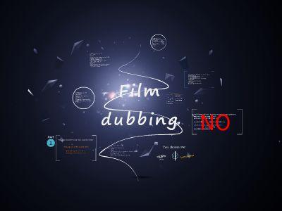 film dubbing 幻灯片制作软件