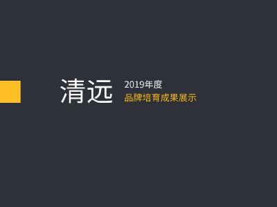 清遠品牌培育ppt展示