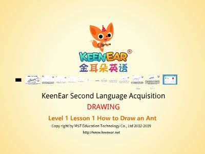 Learning English Through Drawing | Lesson 1 How to Draw Ant 幻灯片制作软件