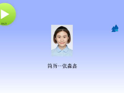 张淼鑫 幻灯片制作软件