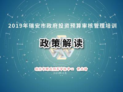 2019政策解读课件