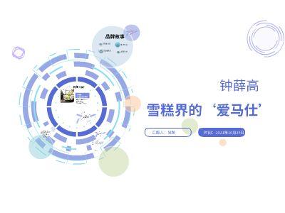 雪糕界的愛馬仕  鐘薛高 終稿 幻燈片制作軟件