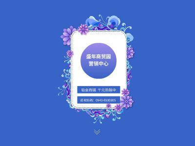 银西产业园扬州路十字   盛年商贸园         千元商铺火热销售中 幻灯片制作软件
