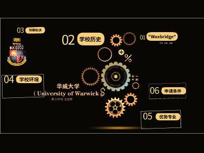 英國華威大學演講 幻燈片制作軟件