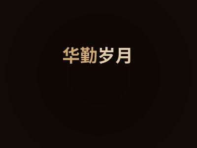 华勤岁月 幻灯片制作软件
