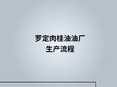 罗定肉桂油油厂生产流程 幻灯片制作软件