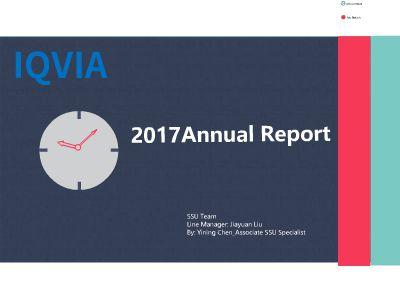 Annual Report 幻灯片制作软件