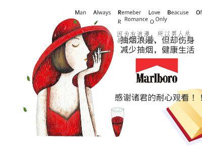万宝路香烟 160830409 王聪 幻灯片制作软件