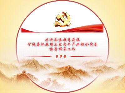 忙农镇肉牛产业联合党委 幻灯片制作软件