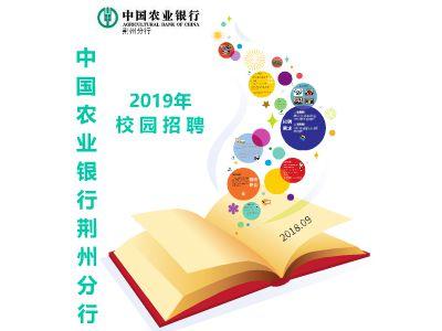 中国农业银行荆州分行2019年校园招聘 幻灯片制作软件