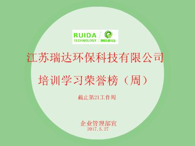瑞达科技学习荣誉榜 幻灯片制作软件