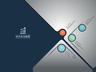 信贷管理系统概要(杨成) 幻灯片制作软件