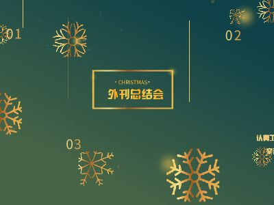 12.13外刊总结会 幻灯片制作软件