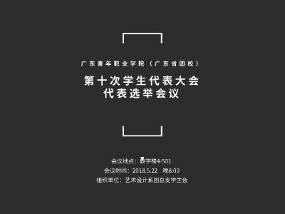 广东青年职业学院(广东省团校)第十次学生代表大会代表选举会议 幻灯片制作软件