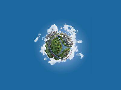 3D地球-寫實 幻燈片制作軟件
