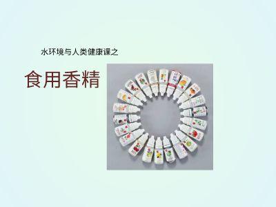 人类健康与食用香精终极版 PPT制作软件
