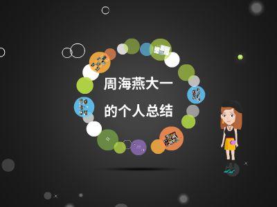 周海燕的个人总结 幻灯片制作软件