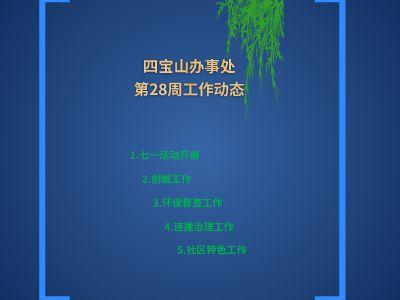 四宝山第28周工作要点 幻灯片制作软件